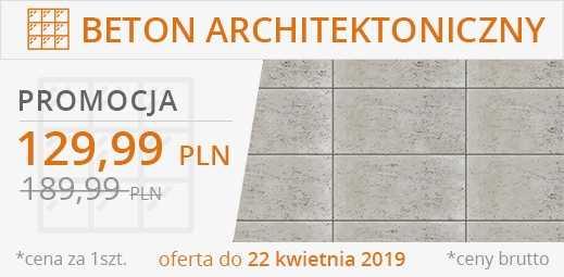 BETON ARCHITEKTONICZNY POROWATY 120 X 60